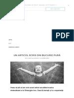 Un Articol Scris Din Bucurie Pură.pdf
