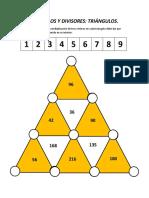 triangulos numericos