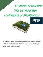 En Argentina están amenazadas más de 500 especies animales y más de 250 vegetales.docx