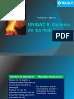 Unidad 9 Quimica de Los Metales