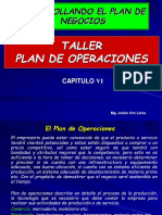 Cap Vi Plan de Operaciones