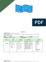 Modelo Proyecto Pedagogico Ciencias Naturales