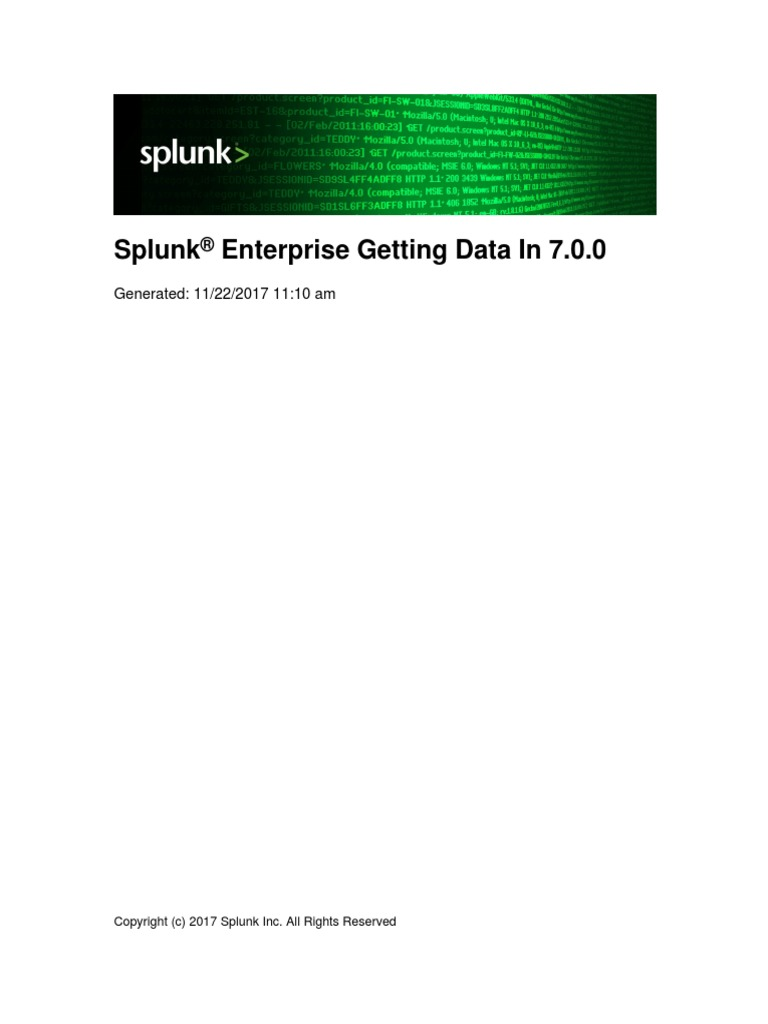 Splunk-7 0 0-Data - Getting Data In | Search Engine Indexing