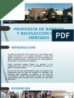 Propuesta de Barrido y Recoleccion Para Mercado Pendiente Presupuesto Ok