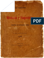 Histeria y Sugestion Jose Ingenieros Texto
