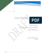 City of Edmonton - Tree Protection Plan