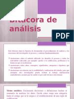Bitácora de análisis exposición