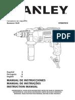 manual de taladro santley