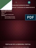 Ventajas, Desventajas y Estrategias de Administracion de Memoria Virtual