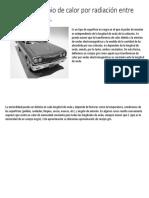6.6 Intercambio de Calor Por Radiación Entre Cuerpos Grises.