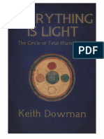 Everything is Light the Circle of Total Illumination - Keith Dowman