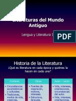 Literaturas Del Mundo Antiguo