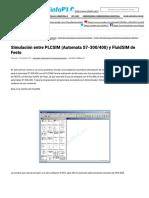 Simulación Entre PLCSIM (Automata S7-300_400) y FluidSIM de Festo - InfoPLC