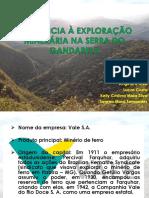 RESISTÊNCIA À EXPLORAÇÃO MINERÁRIA NA SERRA DO GANDARELA.pptx