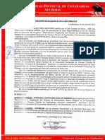 Modelo Resol de Alcaldia de Disponib de Terreno