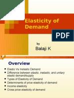 Elasticity of Demand Concepts