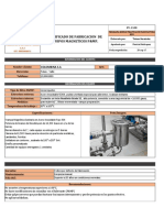 Certificado de Fabricacion P&MP. 1 Xlsb