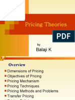 Pricing Theories