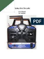 FS CT6 Manual