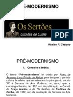 Módulo 33 Pré-modernismo e Euclides Da Cunha