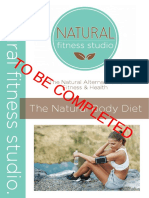 Natural Body Diet - Tbc