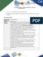 Formato de Autoevaluación y Coevaluación Del Trabajo Colaborativo