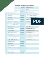 Daftar Harga Domain Dan Space Hosting Ok