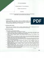 E Dir 0003 Tahun 2016, Petunjuk Pelaksanaan Perhitungan NKO Direktorat, Unit & Anak Perusahaan Xxx E Dir 08 Th 2015
