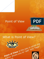 pointofviewandperspectivepowerpointpresentationlanguagearts pptx