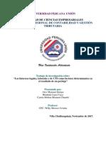 Interes Legal-Interes Laboral-Interes de CTS