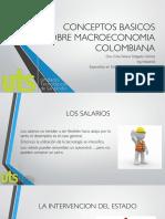 Conceptos Basicos Sobre Macroeconomia Colombiana
