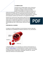 Generalidades de La Hematologia