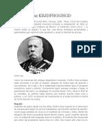 Porfirio Díaz  the new age.docx