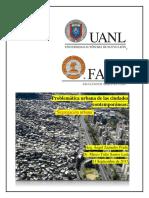 Problemática Urbana de Las Ciudades Contemporáneas