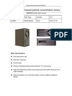 Datasheet Sensor PMS5003