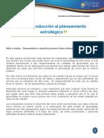 Clase 1 -Unidad 1 - Introducción a La Administración Estratégica
