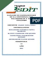 Canales de Distribucion en La Industria Del Transporte y Del Turismo (1)