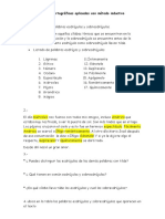 Taller Reglas Ortográficas Aplicadas Con Método Inductivo