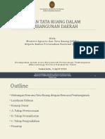 Peran Tata Ruang Dalam Pembangunan Daerah