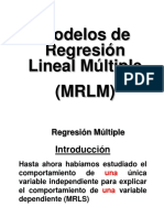 Modelo de Regresion Lineal Multiple