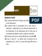 Sesion No 4 - Producto Punto y Producto Cruz