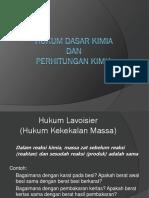 Hukum Dasar Kimia1