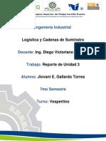 Unidad 3 Logistica y Cadenas de Suministro (Gallardo)
