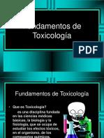 02 - Introducción a Fundamentos de Toxicología