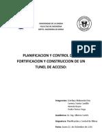 2.0 Planific y Control de La Construccion de Un Tunel