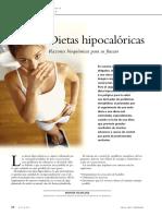 dietas hipocaloricas