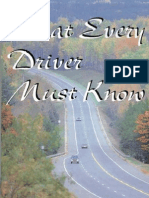 What Every Driver Must Know