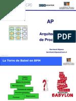 Presentacion Bernhard Hitpass Arquitectura de Procesos