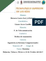 Unidad 2 Telecomunicacion- Jose Birrueta Castro