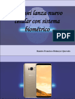 Huawei Lanza Nuevo Celular Con Sistema Biométrico